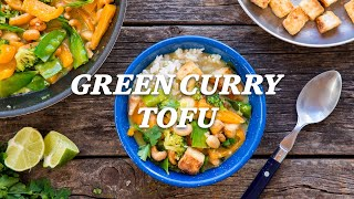 How to make green curry with tofu | REI Camping Recipes