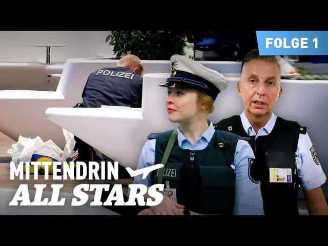 Im Einsatz mit der Bundespolizei am Flughafen Frankfurt | Mittendrin All Stars 1/3