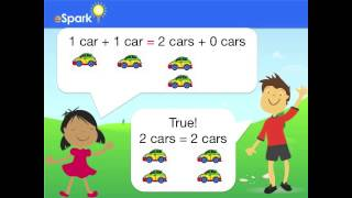 eSpark Learning Equations What Is Equal Framing Video (1.OA, Quest 5)