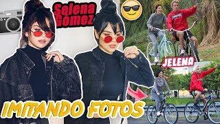 Imitando FOTOS de INSTAGRAM de SELENA GÓMEZ y JUSTIN BIEBER con NANDO