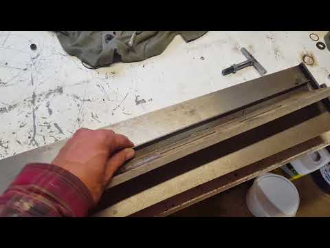 Bench Top Metal Bending Brake Modification