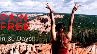 Take the Pain Free in 30 Days CHALLENGE!/ At Home Self care that transforms your health