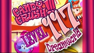 How to beat Candy Crush Saga Dreamworld  Level 117 - 2 Stars - No Boosters - 79,520pts