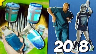 BEST OF FORTNITE IN REAL LIFE! | DANCES, ITEMS, MEMES & MORE *NEW 2018*