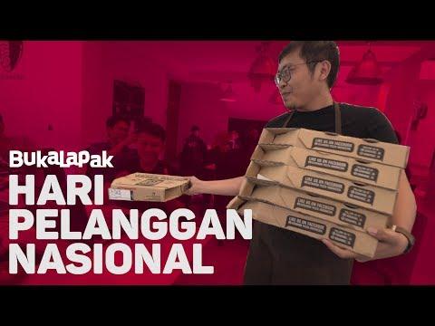 Rayakan Harplenas, CEO Bukalapak & Tim BukaBantuan Tebar Kejutan