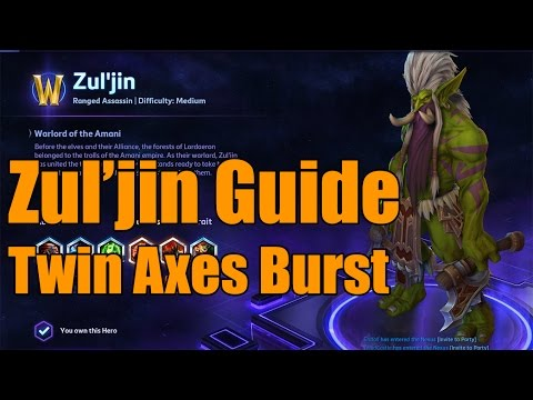 Heroes of the Storm - Zul'Jin Twin Axes Build