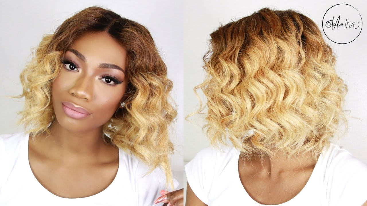 Hair How To Curl A Bob Wig Rpgshow X Anthonycuts Glueless Lace