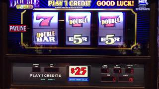 Double Gold Slot Machine - $25 Max Bet