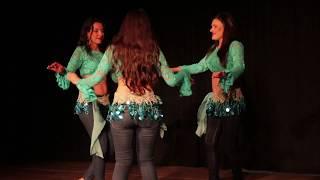 Coreografia Don't stop the music - Pop versão árabe