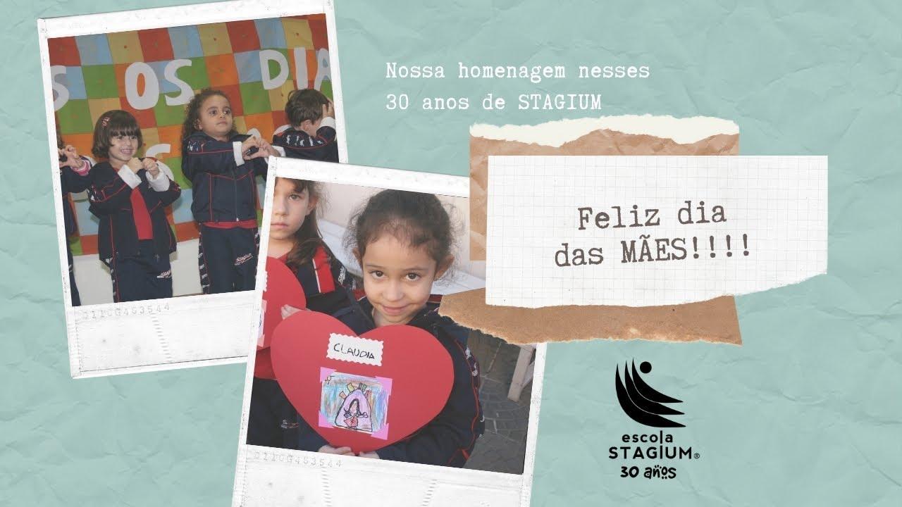 """""""Dia das Mães"""" nesses 30 anos de Stagium."""