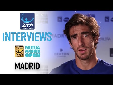 Cuevas Talks First Masters 1000 Semi At Madrid 2017