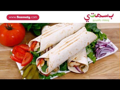 طريقة عمل ساندويش شاورما دجاج في البيت - محضرة من دجاج إنتاج - Chicken Shawarma Sandwich