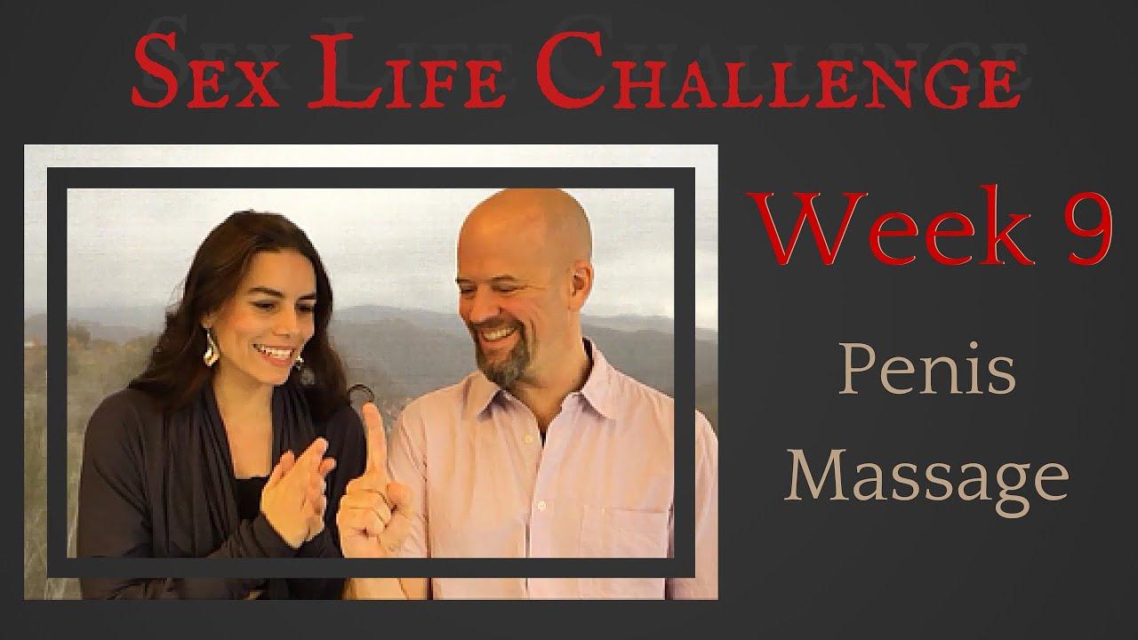 The Sex Challenge: Week 9: Sensual Penis Massage - YouTube