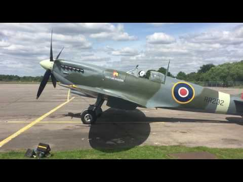 Spitfire Blackbushe Airport