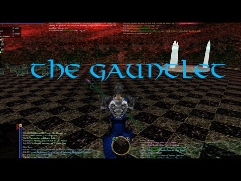 Asheron's Call Gameplay Ep. 08: The Gauntlet through stage 11 + Holcha