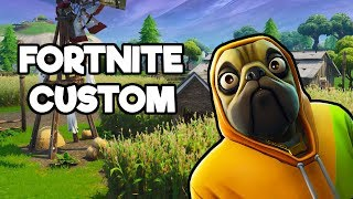 SOIRÉE FORTNITE DUO - CUSTOM WITH YOU SKIN GIFTEL!!!