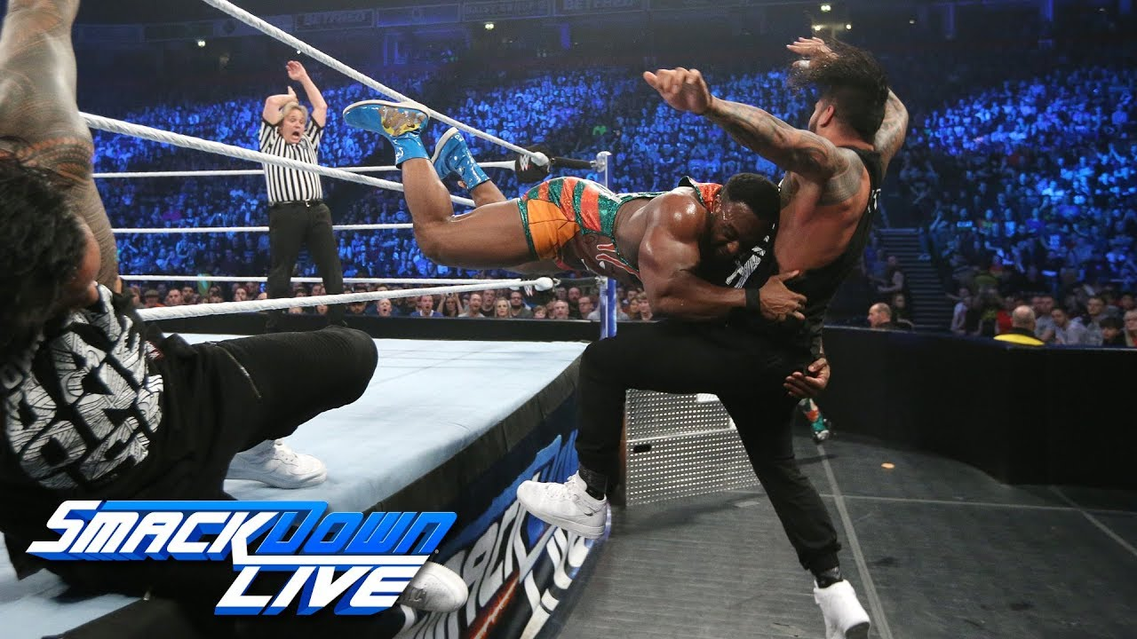 the-new-day-vs-the-usos-winners-captain-survivor-series-tag-match-smackdown-live-nov-6-2018