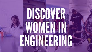 Discover Women in Engineering (WiE)