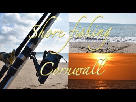 Shore Fishing Cornwall - Sea Fishing Loe Bar Beach