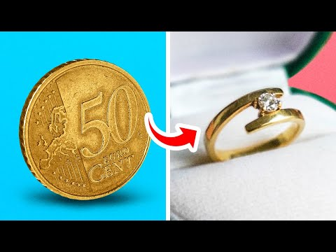 BUDGET DIY JEWELRY IDEAS || HANDMADE RINGS, BRACELETS AND NECKLACES