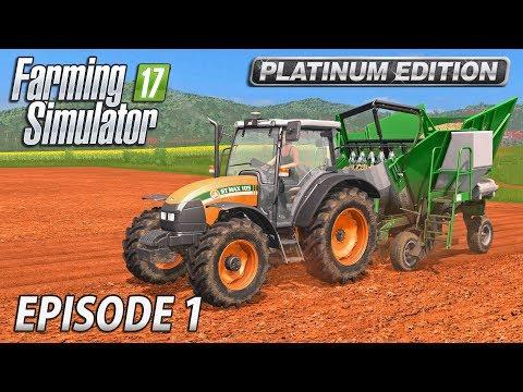 PLANTING SUGARCANE | Farming Simulator 17 Platinum Edition | Estancia Lapacho - Episode 1 thumbnail