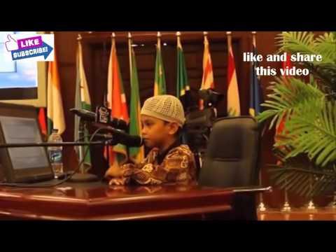 Menakjubkan | Penampilan Sikecil Musa Hafidz Qur'an Mewakili Indonesia di Lomba Tahfid Internasional