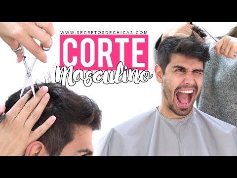 Cómo cortar el pelo a un hombre sin sufrir daños, paso a paso