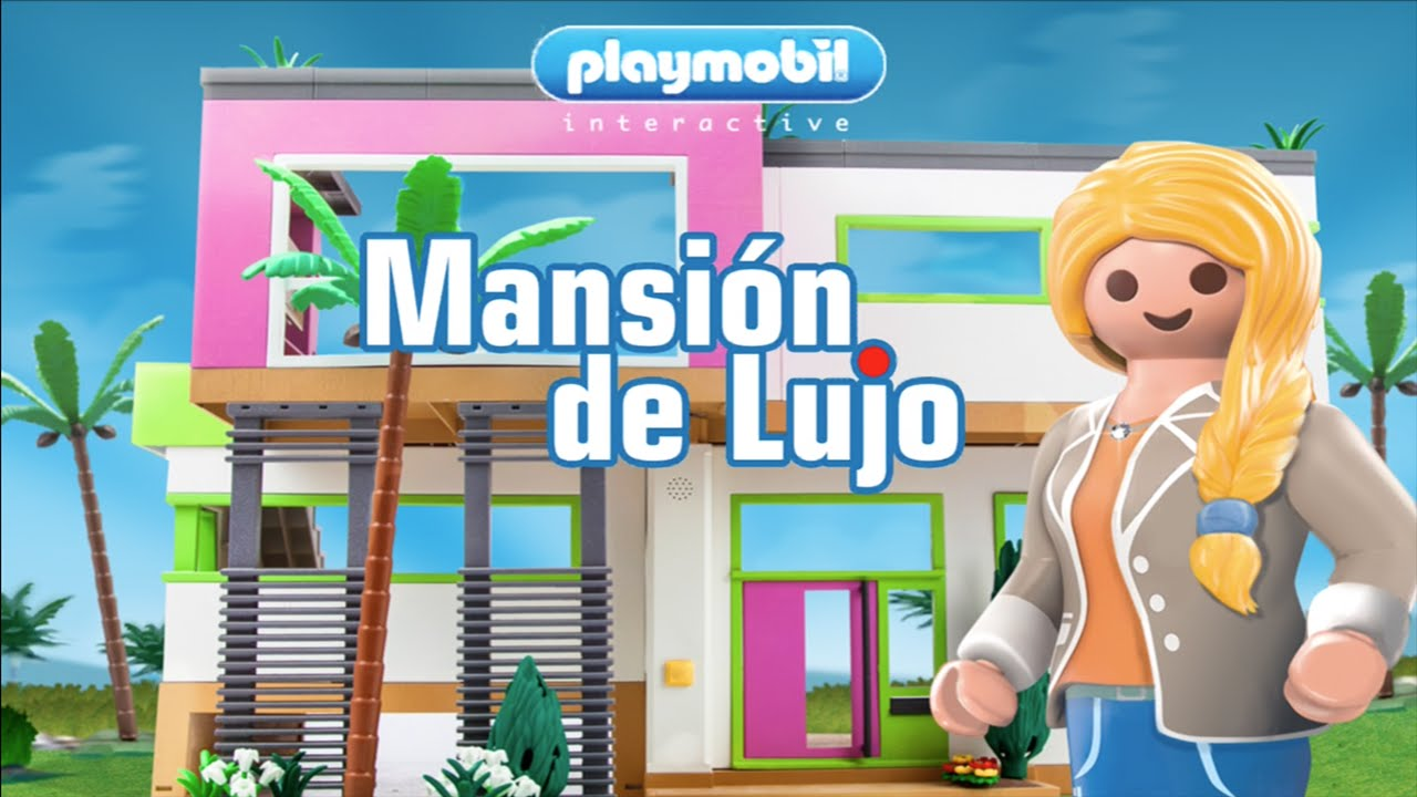 Playmobil mansion de lujo ipad iphone android youtube for Playmobil casa de lujo