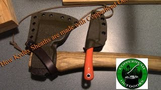 How Kydex Sheaths are Made With Copperhead Outdoors -Mantis Outdoors