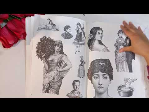 Women: A Pictorial Archive from Nineteenth-Century Sources book flip through