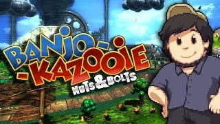 Repeat youtube video Banjo Kazooie: Nuts and Bolts - JonTron
