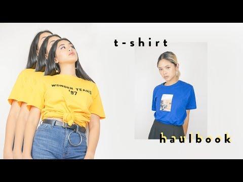 Graphic T-Shirt Haulbook + DIY | ToThe9s