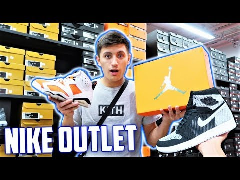 HEAT AIR JORDANS AT NIKE OUTLET! 70% OFF JORDAN STEAL! (MONTREAL)