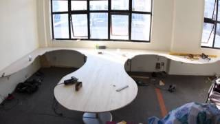 Xequals Office Time Lapse