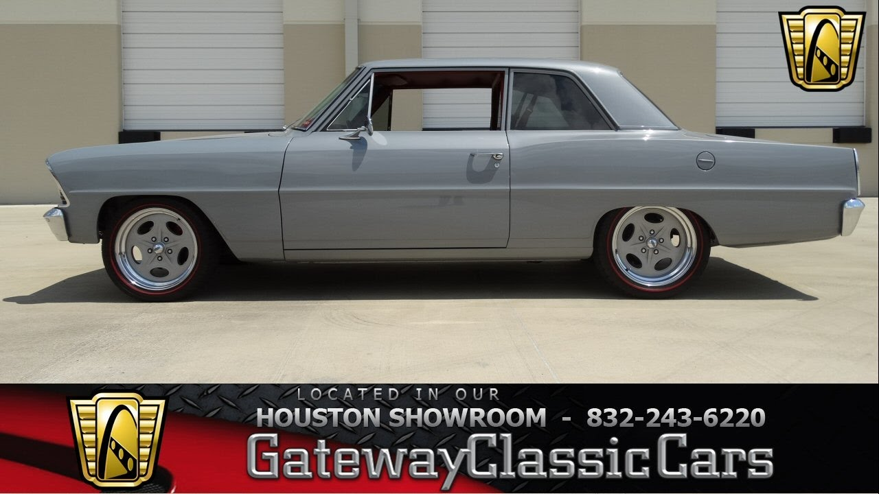 1967 Chevrolet Chevy II for sale at Gateway Classic Cars Houston ...