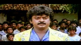 Vijayakanth In Tamil Movie Mass Punch Dialogue And Action Scenes Full HD | Thenpandi Seemayile