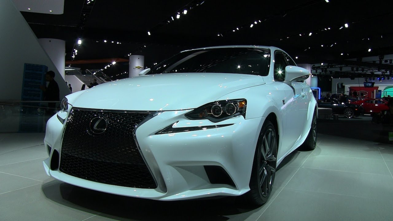 Delightful Watch The 2014 Lexus IS U0026 F Sport Debut At The Detroit Auto Show