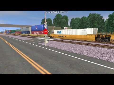 Trainz railfanning #3 Folkston, GA (75 subs) |