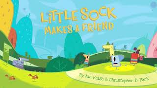 Lucy Capri & Lileina Joy: LITTLE SOCK MAKES A FRIEND Animated Storybook Preview (C) VOOKS