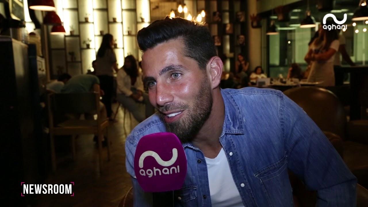 عزيز مرقة يوسّع نشاطه الفني وأغاني أغاني تلتقيه على هامش زيارته الأخيرة لبيروت!