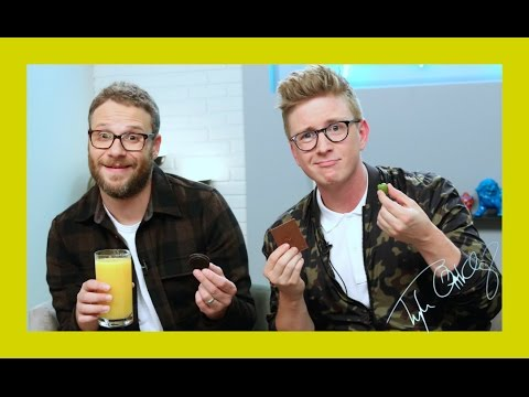 Munchie Madness with Seth Rogen | The Tyler Oakley