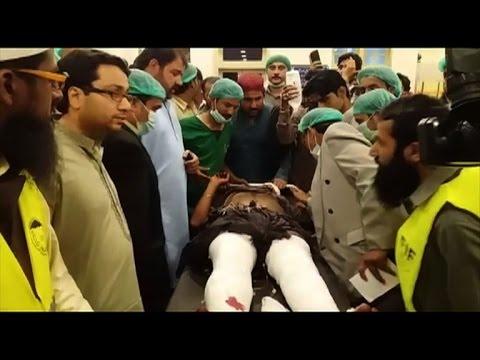Islamic State-claimed bomb kills 70 at Pakistani shrine