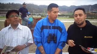 Sensación Hípica Entrevista al jinte L.D.Avila y al TIMEKEEPER Robert Reina (BUCHITO)