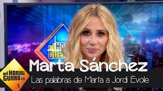 """Marta Sánchez: """"Tributo mi dinero en España desde que empecé a cantar"""" - El Hormiguero 3.0"""