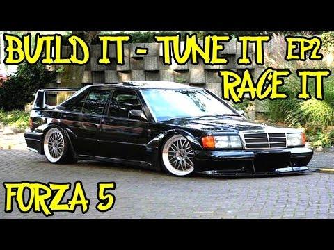 "Build it - Tune it - Race it - Episode 2 ""Tuning"" - Mercedes 190E"