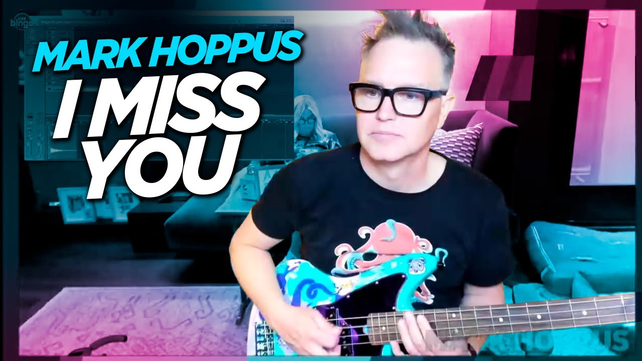 Mark Hoppus performs I Miss You (blink-182) - NEW BASS! - YouTube