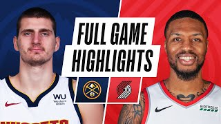 Download NUGGETES at TRAIL BLAZERS | FULL GAME HIGHLIGHTS | May 16, 2021