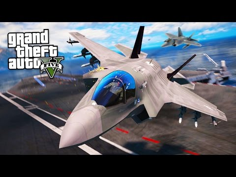 REALISTIC FIGHTER JETS!! (GTA 5 Mods)