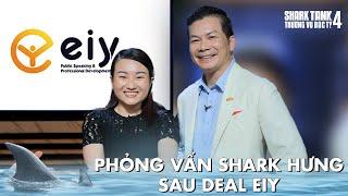 PHỎNG VẤN SHARK HƯNG SAU DEAL EIY   Shark Tank Việt Nam 4   BTS