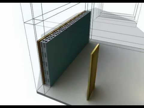 isoler les murs en parpaing par l 39 ext rieur sous bardage rapport avec rockwool youtube. Black Bedroom Furniture Sets. Home Design Ideas